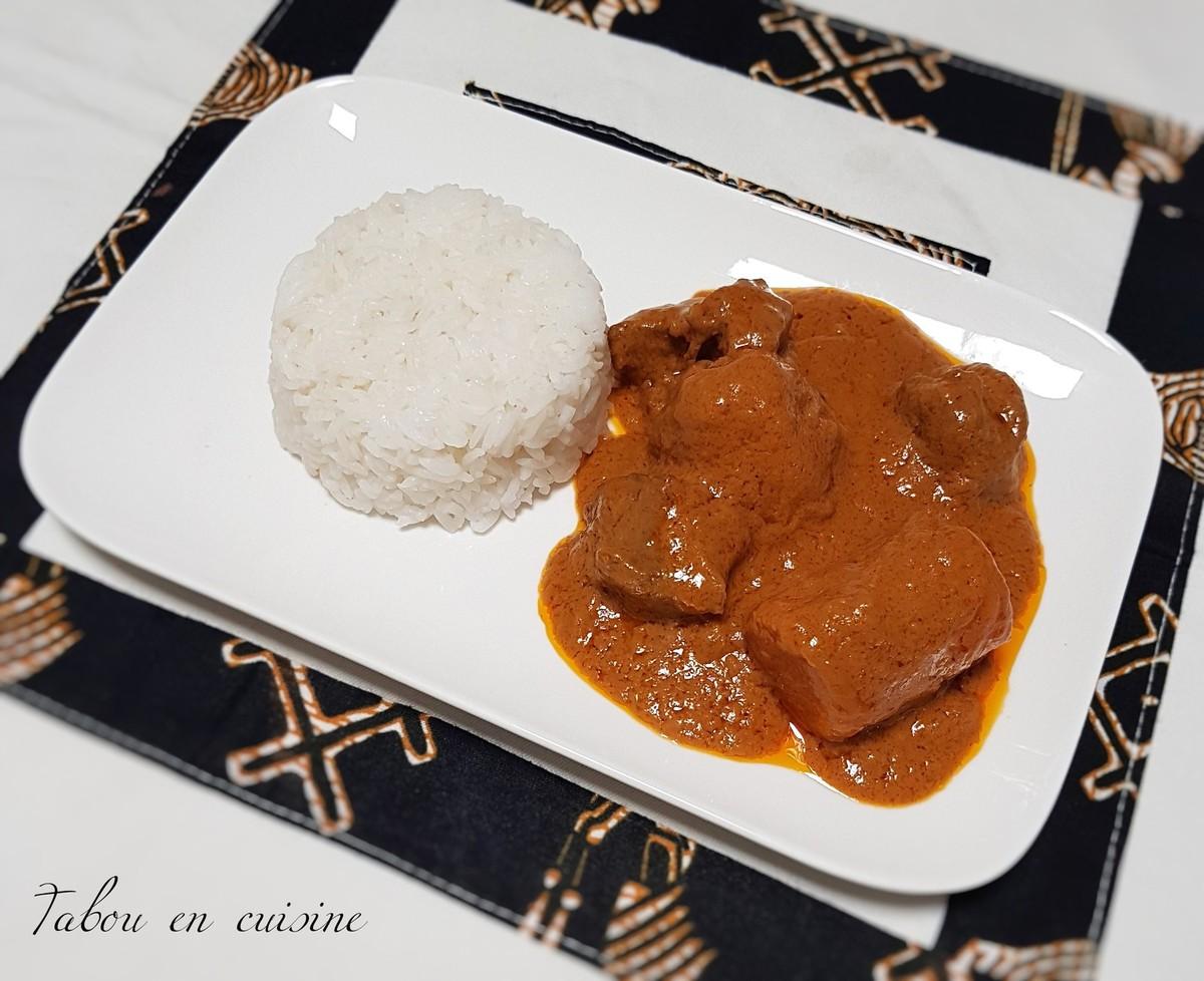 Mafé sénégalais – Tabou En Cuisine