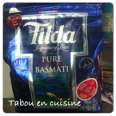 paquet riz
