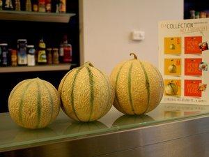 Bricks melon et chévre