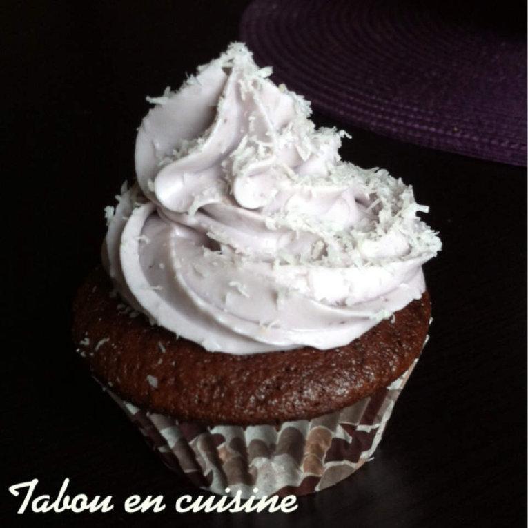 Cupcakes chocolat coco