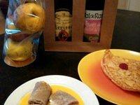 Crêpe gratinées saumon et champignons