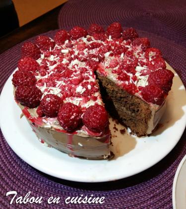 Gâteau au chocolat crème mascarpone nutella