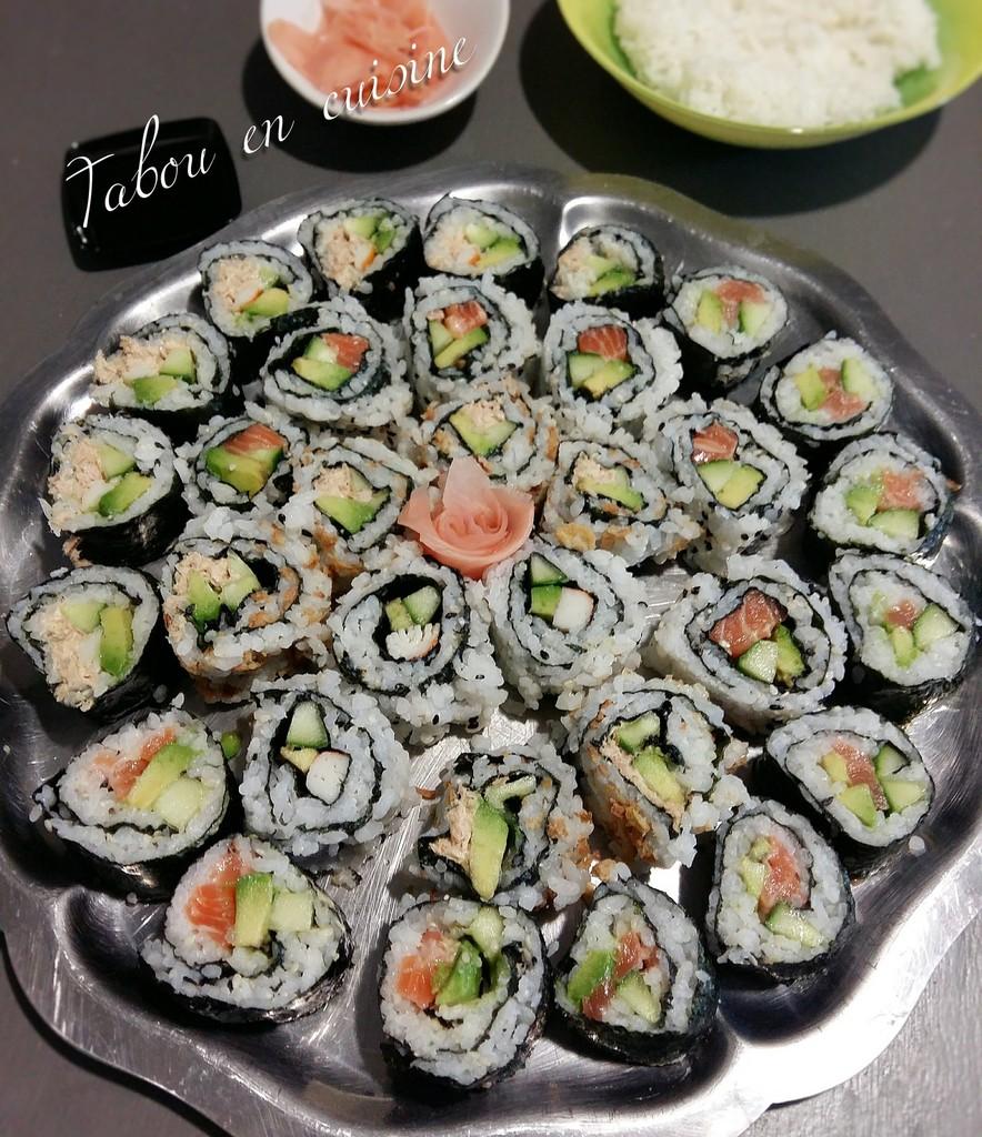 Maki california au saumon