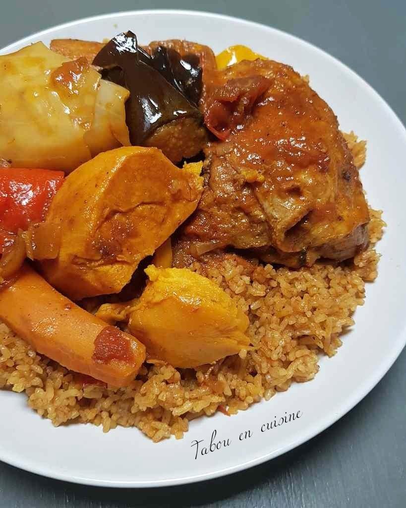 Image De Plat De Cuisine tiebou guinar riz au poulet sénégalais – tabou en cuisine