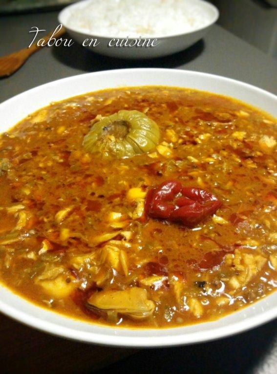 Soupou kandia (kandja)