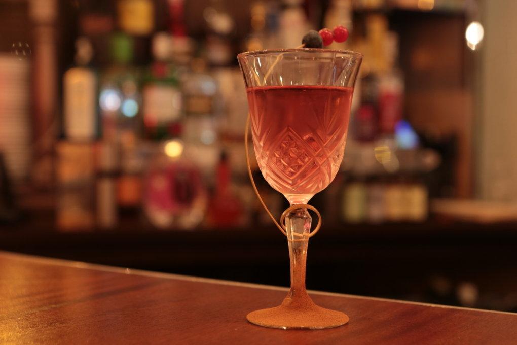 Quelques cocktails de la carte: British Princess, Bombay chaï...